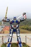 Transformateur de perfection d'Optimus Photos stock