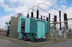 Transformateur de puissance Photos stock