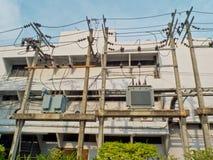 Transformateurs électriques photographie stock