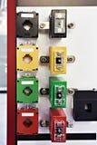 Transformateurs de courant électrique Photographie stock