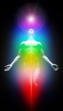 Transformation dans la lumière Image libre de droits