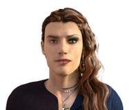 Transformation de transsexuel Images stock