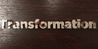 Transformation - grungy wooden headline on Maple - 3D rendered royalty free stock image. This image can be used for an online website banner ad or a print royalty free illustration