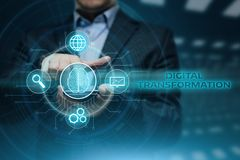 Free Transformation Modernization Innovation Business Internet Technology Concept Royalty Free Stock Image - 105032526