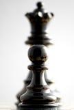 Transformation. Schach. Fokus auf Pfandgegenstand Lizenzfreies Stockfoto