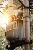 transformator elektryczne Zdjęcie Stock