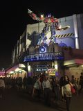 Transformator-Fahrt in Universal Studios Orlando, Florida lizenzfreie stockbilder