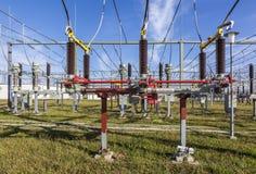 Transformator für Windenergie Stockfoto