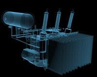 Transformator substation Royalty Free Stock Images