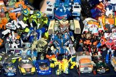 Transformatorenstuk speelgoed voor verkoop Royalty-vrije Stock Foto