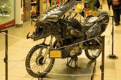 Transformatormotorcykel Arkivbilder