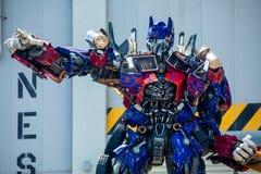 Transformatorowa Optimus prima Universal Studio orlando Floryda USA obraz stock