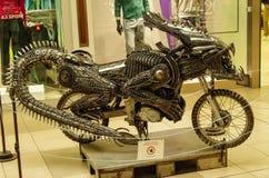 Transformatorowy motocykl Obrazy Royalty Free