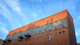 Transformatoru Stacyjny budynek, Budapest, Węgry fotografia stock