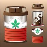 Transforme a xícara de café Imagens de Stock Royalty Free