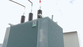Free Transformer At A Power Plant, Transformer At A Solar Power Station Stock Image - 163415061