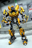 Transformer Bumblebee stock images