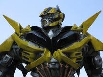 Transformer Robot Stock Image