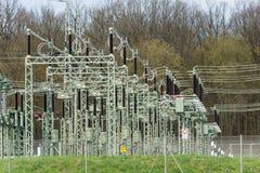 Transformer station Stock Image
