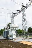 Transformer station Stock Images