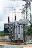 Transformer station Royalty Free Stock Photography