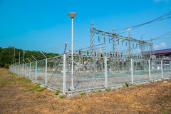 Transformer station Royalty Free Stock Photo