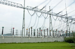 Transformer substation Stock Image