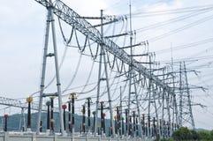 Transformer substation Stock Photography