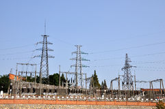 Transformer substation 2 Stock Image