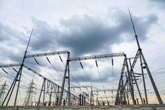 Transformer substation Stock Photos