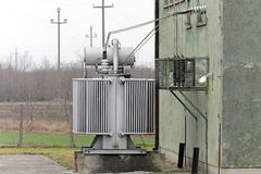 Transformer substation Stock Photography