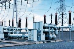 Transformer substation Royalty Free Stock Photo
