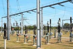 Transformer substation Royalty Free Stock Image