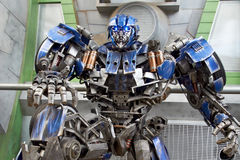 Transformer at Universal Studios Singapore Royalty Free Stock Photography