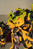 The Transformers Bumblebee Stock Images