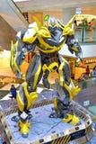 Transformers Bumblebee. Model on display at Telford Plaza, Hong Kong Stock Images