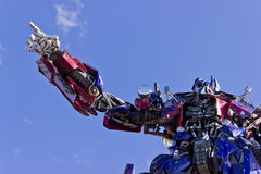 Transformers Ride Royalty Free Stock Image
