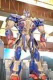 Transformers Optimus Prime. Model on display at Tsing Yi Mall, Hong Kong Royalty Free Stock Photo