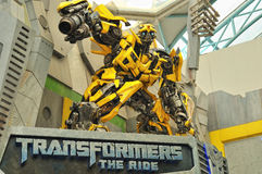 Transformers: The Ride Royalty Free Stock Photography
