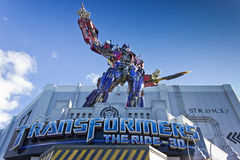 Free Transformers Ride Stock Photography - 50228682