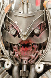 Transformers with scrap parts assembly Royalty Free Stock Images