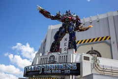 Free Transformers The Ride 3D Universal Studios Stock Photography - 39975592
