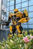 Transformers theme restaurant Royalty Free Stock Photography