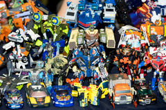 Transformers toy for sale Royalty Free Stock Photo