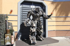 Transformers at Universal Studios Hollywood Stock Images