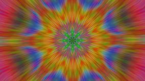 Transforming fractal mandala, colorful elements for webpunk projects.