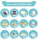 Transfortasi d'icône Image libre de droits