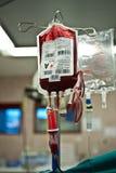Transfusão de sangue Fotografia de Stock Royalty Free