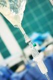 Transfusión foto de archivo libre de regalías