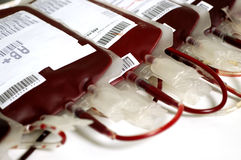 Transfusión de sangre Imagen de archivo